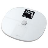 エレコム(ELECOM) Wi-Fi通信機能搭載 エクリア 体組成計 HCS-WFS01WH ホワイト│ヘルスケア 体重計・ヘルスメーター
