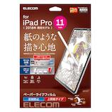 【iPadPro11インチ2018年モデル】 エレコム(ELECOM) フィルム/ペーパーライク/反射防止/上質紙タイプ TB−A18MFLAPL
