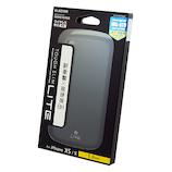【iPhoneXS/X】 エレコム×東急ハンズ iPhoneXS/X(5.8inch)用タフスリムライト HA-A18BTSLBK ブラック