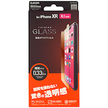 【iPhoneXR】 エレコム×東急ハンズ iPhoneXR(6.1inch)用 ガラスフィルム 0.33mm HA-A18CFLGG