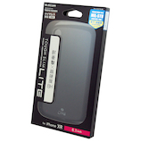 【iPhoneXR】 エレコム×東急ハンズ iPhoneR(6.1inch)用タフスリムライト HA-A18DTSLBK ブラック