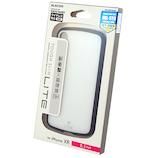 【iPhoneXR】 エレコム×東急ハンズ iPhoneXR(6.1inch)用タフスリムライト HA-A18CTSLCCR ホワイト