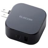 エレコム(ELECOM) PowerDelivery準拠 USB AC充電器(C+USB) MPA-ACCP10BK ブラック
