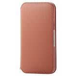 【iPhone11】 エレコム(ELECOM) NEUTZ(ニューツ) ソフトレザーケース/磁石付 PM-A19CPLFY2BR ブラウン