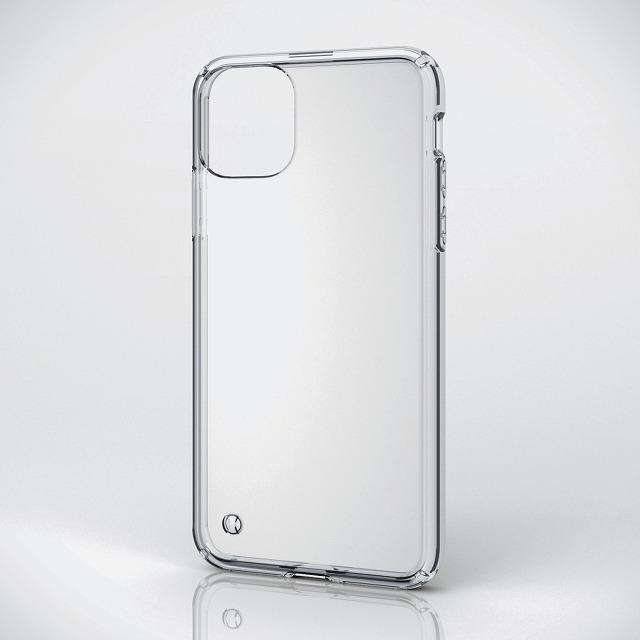 【iPhone11ProMax】 東急ハンズオリジナル ハイブリッドケース i11PM クリア