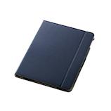 エレコム(ELECOM) iPad10.2インチ ソフトレザーケース ネイビー