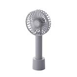 エレコム(ELECOM) ハンディファン FAN-U205GY グレー│生活家電 扇風機