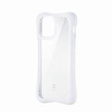 【iPhone12/iPhone12Pro】 エレコム(ELECOM) ハイブリッドケース フィンチ(finch) ぴったりホールド 6.1インチ PM-A20BHVHH3CRW クリアホワイト│携帯・スマホケース iPhoneケース