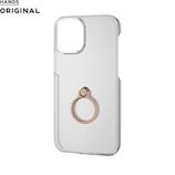【iPhone12 mini】 東急ハンズオリジナル ハードケース リング付 5.4インチ