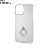 【iPhone12 Pro Max】 東急ハンズオリジナル ハードケース リング付 6.7インチ