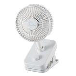 エレコム(ELECOM) クリップ型ファン FAN-U217WH ホワイト│生活家電 扇風機