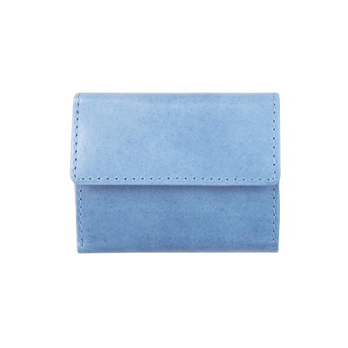 バギーポート×東急ハンズ ミニ財布 176BL 藍染め