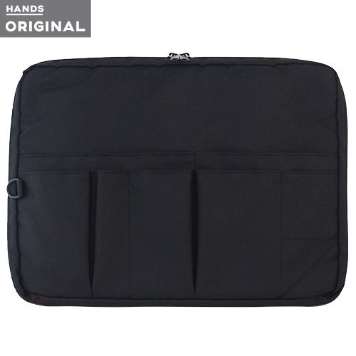 東急ハンズオリジナル スタンド型 バッグインバッグ 横 ブラック