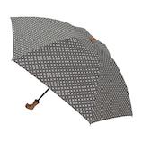 hands+ 1級遮光 新簡単開閉折りたたみ傘 50cm 小紋ネイビー