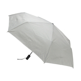 hands+ 自動開閉 超撥水折りたたみ傘 50cm ブラックボーダー│レインウェア・雨具 折り畳み傘