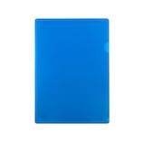 東急ハンズオリジナル 角が丸いクリアホルダー A4 ブルー│ファイル クリアホルダー