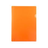 東急ハンズオリジナル 角が丸いクリアホルダー A4 オレンジ│ファイル クリアホルダー