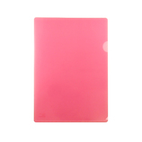 東急ハンズオリジナル 角が丸いクリアホルダー A4 ピンク│ファイル クリアホルダー