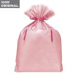 東急ハンズオリジナル リボン付きギフト袋 ピンクLL│ラッピング用品 ラッピング袋