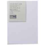 東急ハンズオリジナル カラーポストカード シロ