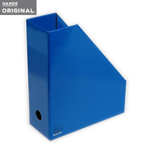 東急ハンズオリジナル ファイルボックスA4 タテ ブルー