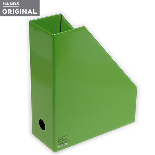 東急ハンズオリジナル ファイルボックスA4 タテ ライトグリーン