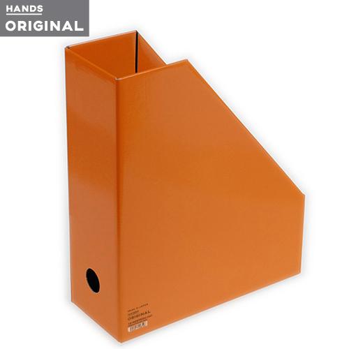 東急ハンズオリジナル ファイルボックスA4 タテ オレンジ