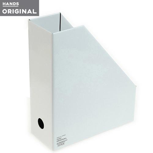 東急ハンズオリジナル ファイルボックスA4 タテ ホワイト│ファイル ボックスファイル