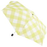 w.p.c×東急ハンズ 折りたたみ傘 ギンガム 50cm イエロー
