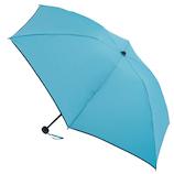 hands+ 新簡単開閉折りたたみ傘 55cm ブルー│レインウェア・雨具 折り畳み傘