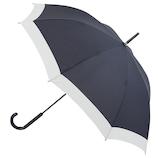 hands+ 軽量ジャンプ長傘 60cm ネイビー×オフホワイト│レインウェア・雨具 傘