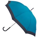 hands+ 軽量ジャンプ長傘 60cm ターコイズ×ネイビー│レインウェア・雨具 傘