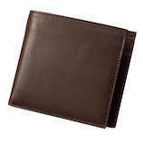 ダンテスカ 二つ折り財布 MOD‐8 ブラウン│財布・名刺入れ 二つ折り財布