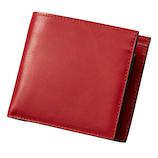 ダンテスカ 二つ折り財布 MOD‐8 レッド