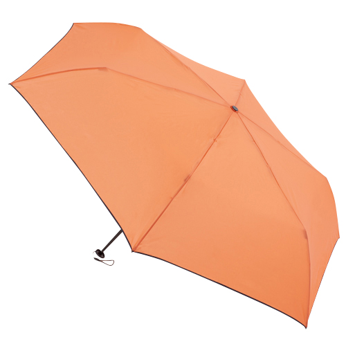 hands+ 超軽量簡単開閉折傘 50cm ピンク