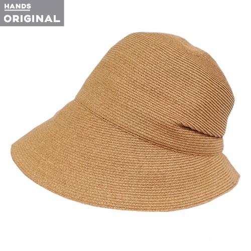 東急ハンズオリジナル たためる洗える帽子 ペーパーブレード ナチュラル