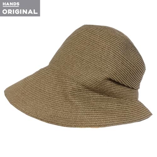 東急ハンズオリジナル たためる洗える帽子 ペーパーブレード カーキ│アウトドアウェア
