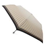 【ハンズメッセ2020】東急ハンズオリジナル 耐風折傘 55cm ブラウンボーダー<お届けまで約1〜2週間>