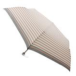 【ハンズメッセ2020】東急ハンズオリジナル 耐風折傘 55cm ピンクボーダー<お届けまで約1〜2週間>