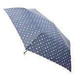【ハンズメッセ2020】東急ハンズオリジナル 耐風折傘 55cm ネイビードット<お届けまで約1〜2週間>