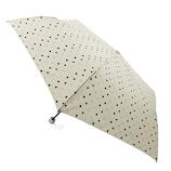 東急ハンズオリジナル 耐風折傘 55cm オフドット│レインウェア・雨具 折りたたみ傘
