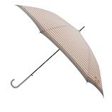 【ハンズメッセ2020】東急ハンズオリジナル 耐風長傘 60cm ピンクボーダー<お届けまで約1〜2週間>