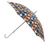 【ハンズメッセ2020】東急ハンズオリジナル 耐風長傘 60cm ネイビーフラワー<お届けまで約1〜2週間>