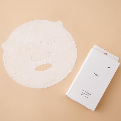 東急ハンズオリジナル muqna(ムクナ) フェイスシートマスク 25mL×5枚入│フェイスケア フェイスマスク・パック