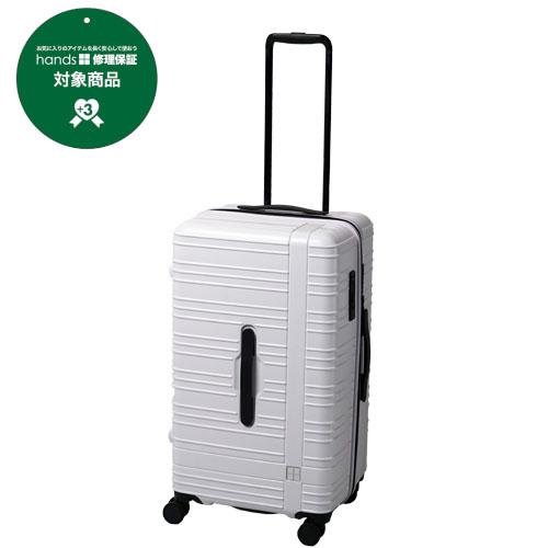 hands+ スーツケース カラーシリーズ スポーツタイプ 74L ホワイト 【メーカー直送品】お届けまで約1週間~10日間