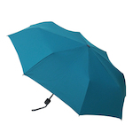 hands+ 風に強い簡単開閉 折りたたみ傘 60cm ターコイズ│レインウェア・雨具 折り畳み傘