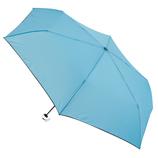 hands+ 超軽量簡単開閉折りたたみ傘 50cm ブルー│hands+ウェザー hands+ 折りたたみ傘