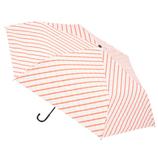 hands+ 軽量一級遮光日傘 53cm ピンク×ベージュ チェック│レインウェア・雨具 折り畳み傘