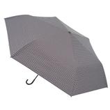 hands+ 軽量一級遮光日傘 53cm ブラックボーダー│レインウェア・雨具 折り畳み傘