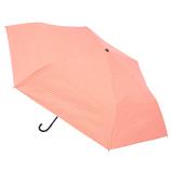 hands+ 軽量一級遮光日傘 53cm ピンクボーダー│レインウェア・雨具 折り畳み傘